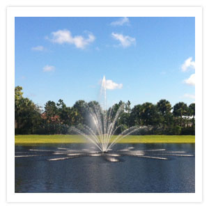3 Tier Water Fountains, 3 Horse Power Floating Fountains and Lake Fountains