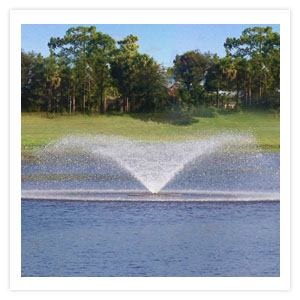 Surface Aerator Lake and Pond Floating Water Fountains